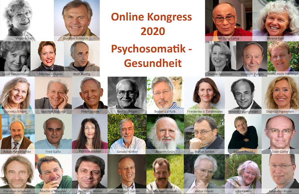 Online-Kongress Psychosomatik - Gesundheit 2020