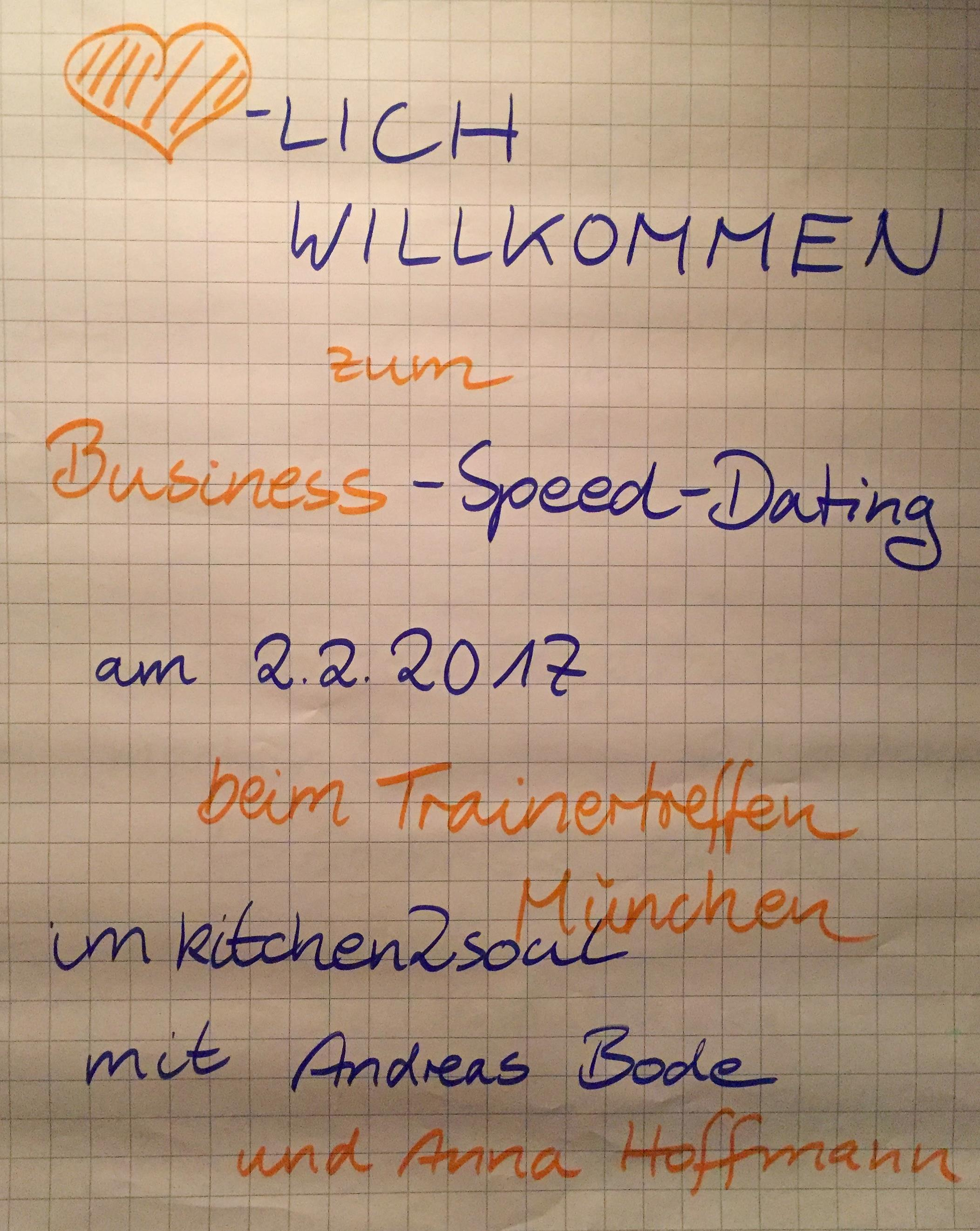 Business speed dating 1